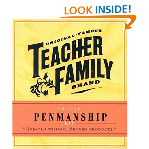 Proper Penmanship (Original Famous Teacher Family Brand Mini Kits) Debora Yost