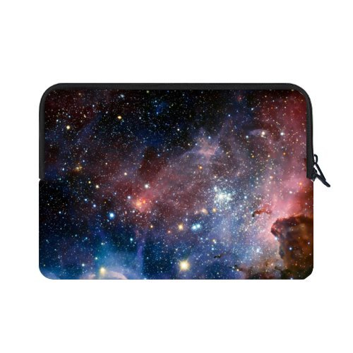 WECE Nebula Galaxy Space Universe Theme Pattern Macbook, Macbook Air/Pro 15.6 Inch All 15.6