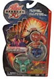 Bakugan Battle Brawlers Starter Pack Series 2-Red Mystery Marble, Blue 440 Robotallion, and Green Griffon