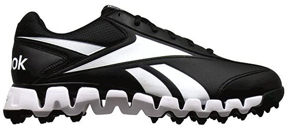 online store aaf40 c5045 Amazon.com   Reebok Zig Magistrate Mens Umpire Shoe 9 Black White    Baseball   Softball