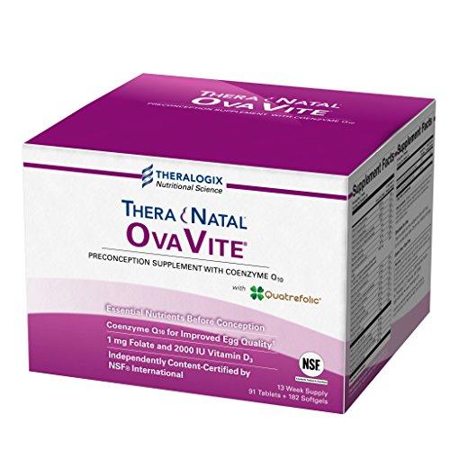 TheraNatal OvaVite Preconception Prenatal Vitamins (91 day supply) by Theralogix