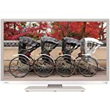 """Toshiba 24D1334 24"""" Multi System Slim HD LED TV & Built In All Region Free DVD Player Combo 110-240 Volt w/ Free HDMI Cable"""