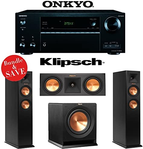 Onkyo TX-NR656 7.2 Channel Network A V Receiver Klipsch RP-250F Klipsch RP-250C Klipsch R-110SW – 3.1 Reference Premiere Home Theater Package