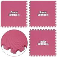 Best Floor Pad SoftFloors Pink Total