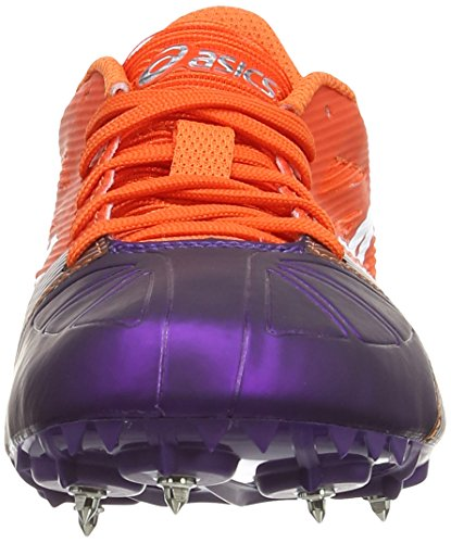 ASICS Hyper-Rocketgirl SP 6 - Zapatillas de deporte para mujer Naranja (Orange / White / Dark Purple 2901)