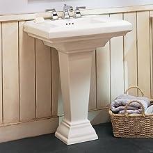 American Standard 0031.000.020 Town Square Pedestal Sink Leg, White