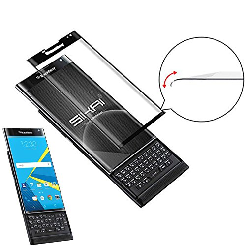 BlackBerry Priv Screen Protector,VIMVIP 3D Full Coverage Tempered Glass  Screen Protector for Blackberry Priv Retail Packaging
