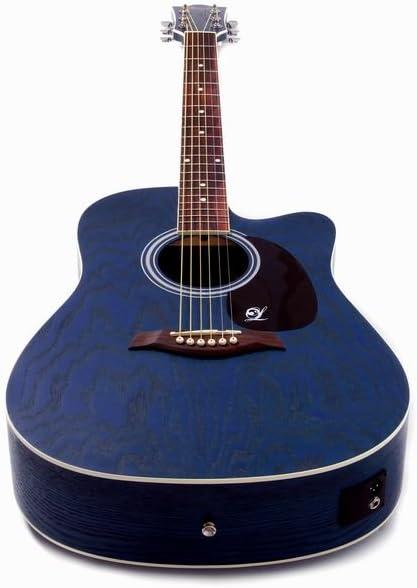Guitarra electroacústica Willow, de la marca Lindo, con cutaway ...