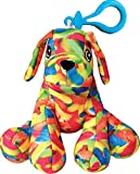 iscream Bubble Gum Scented 'Gummy Worms' Puppy Squishem Backpack Charm