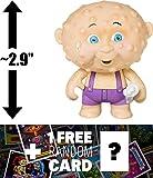 Corroded Carl: ~2.9'' Garbage Pail Kids x Funko Mystery Minis Mini-Figure Series #2 + 1 FREE GPK Trading Card/Sticker Bundle (108454)