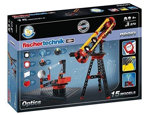 Fischertechnik Optics Experiment Kit with with with Light, 300-Piece by fischertechnik 4ad667