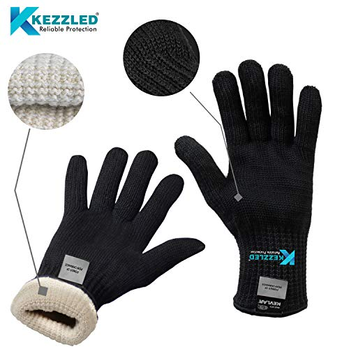KEZZLED Oven Gloves Flame Resistance