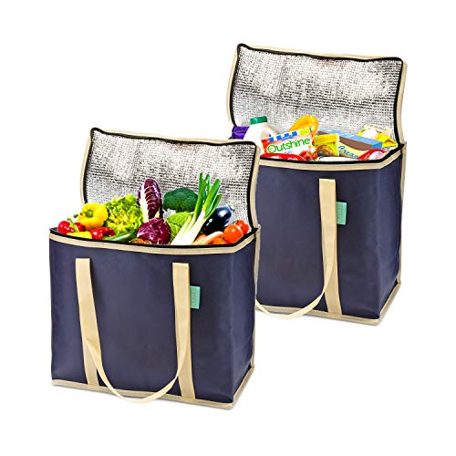 Insulated Grocery Reusable Shopping Groceries