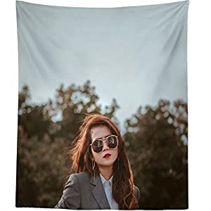 Westlake Art Wall Hanging Tapestry - Woman Lady - Photography Home Decor Living Room - 26x36in