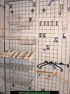 Pfannen Aufhängen gitter wandgitter deko gitter amazon de küche haushalt