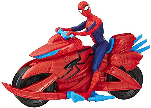Spiderman Marvel Figure with Cycle