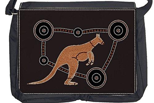 Borsa Tracolla Arredamento Cucina Canguro aborigeno Stampato