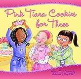 Pink Tiara Cookies for Three