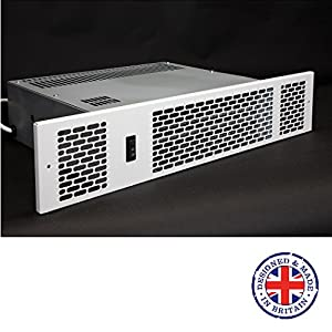KPH-2100 Classic – Kitchen plinth heater – Central Heating – Hydronic – 2.1kW (White)