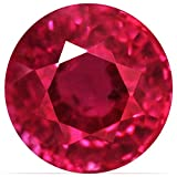 0.43 Carat Untreated Loose Ruby Round Cut Gemstone