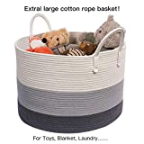 "INDRESSME XXXLarge Woven Rope Basket | Wide 21"" x"