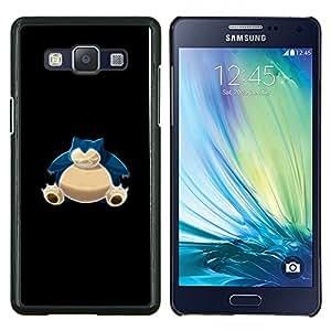 TECHCASE---Cubierta de la caja de protección para la piel dura ** Samsung Galaxy A5 ( A5000 ) 2014 Version ** --Azul P0kemon Bulba