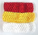 24pcs Crochet Headbands for Kids Baby Girl Headwrap Headwear Hair Accessories