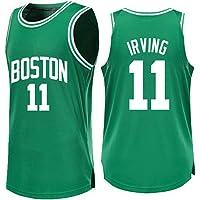 YANZZ Kyrie Irving # 11 Jersey de Baloncesto para Hombre -NBA Boston Celtics,Camisa sin Mangas Swingman de Nueva Jersey