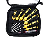 Professional Screwdriver Set ,8 Pieces Phillips and Slotted Magnetic Screwdriver,Craftsman Toolkit,Big and Micro-Fine Grip, NON-Slip ,Rust Resistant ,Magnetic Design