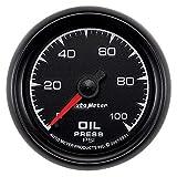 """Auto Meter 5921 ES 2-1/16"""" 0-100 PSI Mechanical Oil Pressure Gauge"""