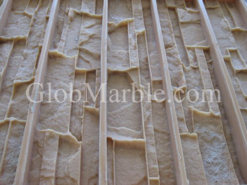 GlobMarble Cultured Stone Mold, Wall Veneer Paver. Rubber Mold Vs 601/1 ()