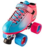 quad skates riedell - New! Riedell Dart 2 Tone Pink & Blue Ombre Quad Roller Speed Skate Youth & Adult Sizes! (Mens 9)