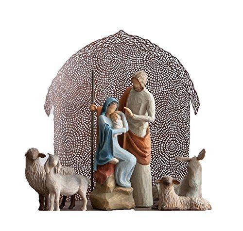 Willow Tree The Holy Family Nativity Set ()