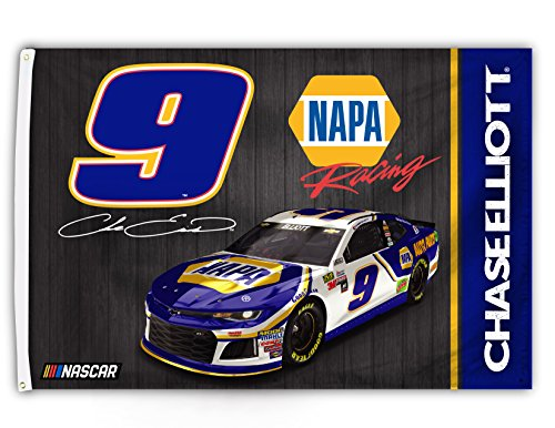 Chase Elliott #9 2018 3x5 Flag w/grommets Outdoor House Bann
