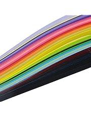 Multi Coloured 39cm Quilling Paper 100pcs
