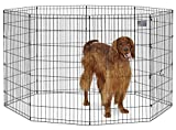 MidWest Foldable Metal Exercise Pen / Pet Playpen, 24″W x 42″H For Sale