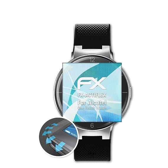 atFoliX Película Protectora Apto para Alcatel One Touch Watch ...