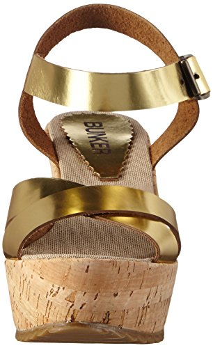 Bunker Sandal - Correa de tobillo Mujer Dorado - Gold (GOLD)