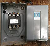 Siemens 100 Amp Contactor W/enclosure, 40 HP, 600 Volt Cat# 42FE35AF106, 3 Phase