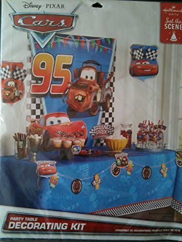 Disney Pixar Cars Party Table Decorating (Disney Cars Table)