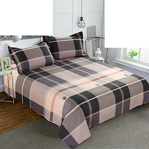 Hypoallergenic Bed Sheets,Thickened Coverlet Durable Resistant To Dust  Mites Cotton For All Seasons Queen