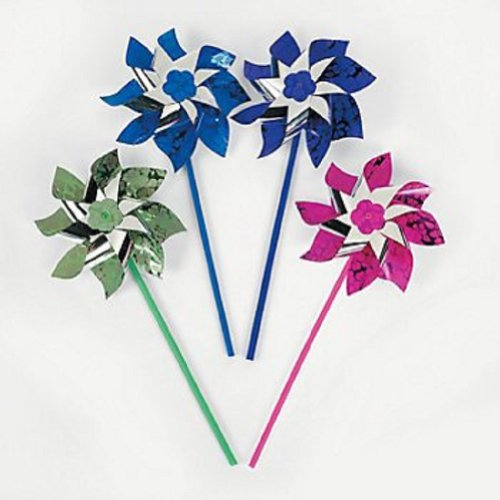 PARADISE PARTY PINWHEELS DOZEN Children