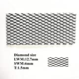 100X100X1.5mm Super Titanium Mesh Filter Screen for Electrolysis 3.53X3.53X0.05in,5pcs/Packaging