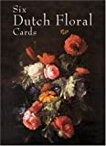 Six Dutch Floral Cards, , 0486415600