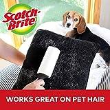 Scotch-Brite Lint Roller Refill, Works great on pet hair, 6 Roller Refills