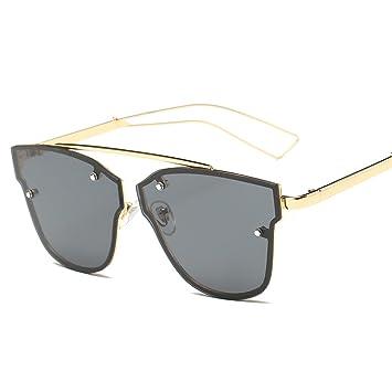 WKAIJC Trends Mode Straße Schießen Retro Personalisierte Bequem Kreativ Pop Männlich Und Weiblich Sonnenbrille,E
