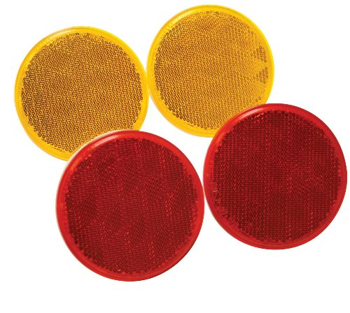 Reese Towpower 73818 Red Reflector - 2 (Red Reflector)