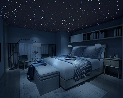 lighting for dark rooms. firefly realistic 3d domed glow in the dark stars 600 lighting for rooms