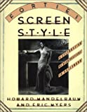 img - for Forties Screen Style: A Celebration of High Pastiche in Hollywood (Architecture and Film, No. 4) book / textbook / text book