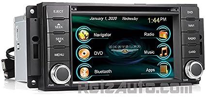 2008 2009 chrysler aspen 2007 2010 sebring in dash gps navigation rh amazon ca 2007 Chrysler Aspen Accessories Aspen Car